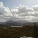 Quinag in the distance!