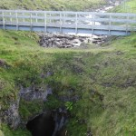 'Blow-hole' from Smoo Cave